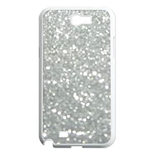 Silver Bling Unique Design Cover Case for Samsung Galaxy Note 2 N7100,custom case cover ygtg592229