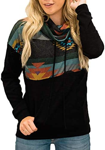 AlvaQ Women Quarter Zip Color Block Pullover Sweatshirt Tops with Pockets(S-XXL)
