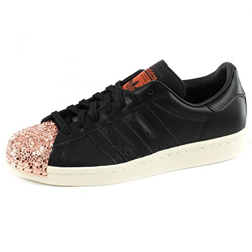 Donna adidas per 80S 40 2 Superstar Metal Originals 3 Sneaker Nero 1HpqYH