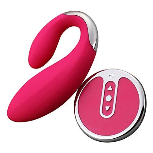 G Spot Wireless Vibrator Massage Sex Toys For Women,8 Modes Massager Vibrator Anal Butt Plug AV Vibrator For Adult Game Pink