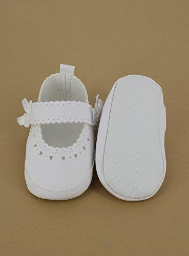 Hausschuhe cm Taufe Mädchen 18 Weiß Weiß Shop Ow0PSWOq