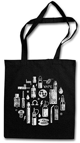 VAPE II Hipster Shopping Cotton Bag Cestas Bolsos Bolsas de la compra reutilizables