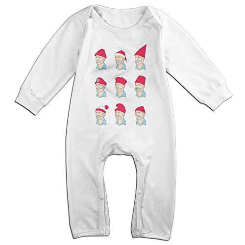 Cute Bill Murray Outfits For Baby White Size 18 Months - Caddyshack Outfit