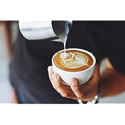 Art Blur Cappuccino Coffee Poster Print 24x 36