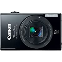 Canon PowerShot ELPH 530 HS 10.1 MP Wi-Fi Enabled CMOS Digital Camera with 12x Optical Image Stabilized Zoom 28mm Wide-Angle Lens with 1080p Full HD Video and 3.2-Inch Touch Panel LCD (Black) (Discontinued by Manufacturer) Noticeable Review Image