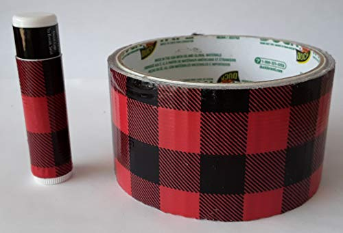 5 Buffalo Plaid Chap Stick Lip Balm five pack pieces BULK by In a Sticky Situation