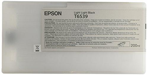 Epson UltraChrome HDR Ink Cartridge - 200ml Light Light Black (T653900)
