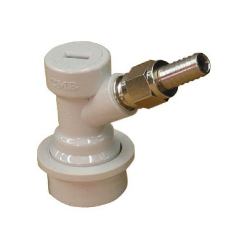 1-X-Ball-Lock-Home-Brew-Keg-Beer-Coupler-Gas-In-with-MFL-Male-Flare-Fitting-with-Hose-Barb