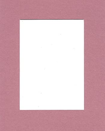 22x28 Mauve Picture Mats with White Core Bevel Cut for 18x24 Pictures