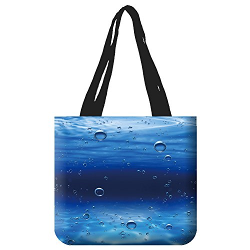 HandBagLee Tote Bag makeup bag Shopping Bags Shoulder HandBags 3609939 bubbles underwater 12