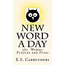 New Word A Day: Vocabulary Cartoons (New Word A Day - Vol Book 1)