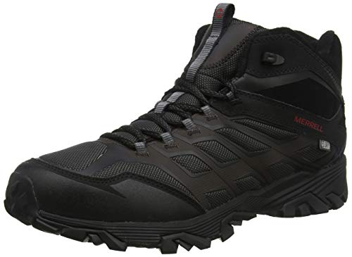 Merrell Men's Moab FST Ice + Thermo Winter Boot, Black, 9 M