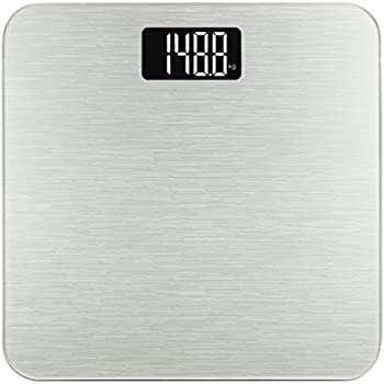 Smart Weigh Digital Body Tempered Glass Weight Scale