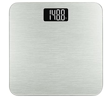 Smart Weigh Digital Body Weight Scale,Tempered Glass, Step-On Technology, 400