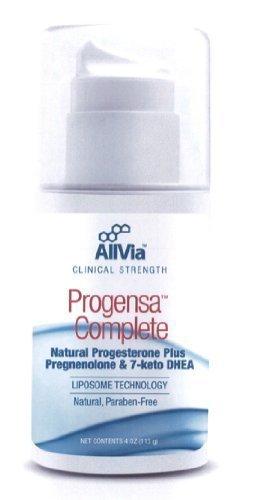 AllVia intégré Pharmaceuticals - Progensa complète pompe de 4 onces
