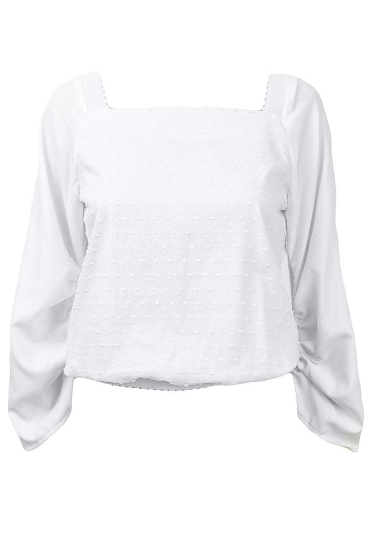 Plains and Prints Womens Marbella Korlette Long Sleeves Top