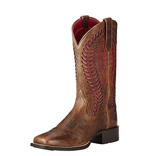 ARIAT Quickdraw Venttek Western Boot Barn Brown Size 10