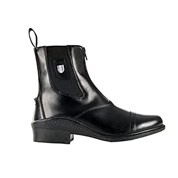 Horze Sydney Leather Front Zip Jodhpur Boots