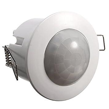 Calli 360 grados de mini interruptor de techo empotrado detector pir sensor de movimiento