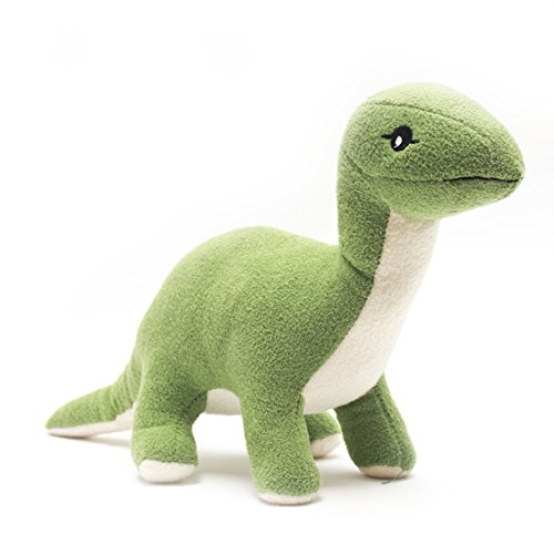 HugeHug Plush Tanystropheus Dinosaur Stuffed Toy for Kdis 12 inches Green, for Boys Girls Birthday Gifts]()