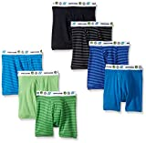 Fruit of the Loom boys Boxer Brief, Exposed and Covered Waistband, Assorted