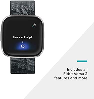 Fitbit Versa 2, el smartwatch que te ayuda a mejorar la salud y la forma física, y que incorpora control por voz, puntuación del sueño y música - ...