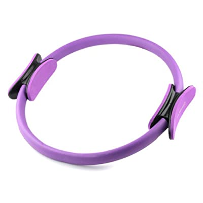 Ihuniu Purple Magic Pilates Circle Ring Exercises Yoga Equipment from iHuniu,Inc.