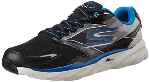 Skechers Go Run Ride 4 - Zapatillas de running Hombre Schwarz (black/blue)