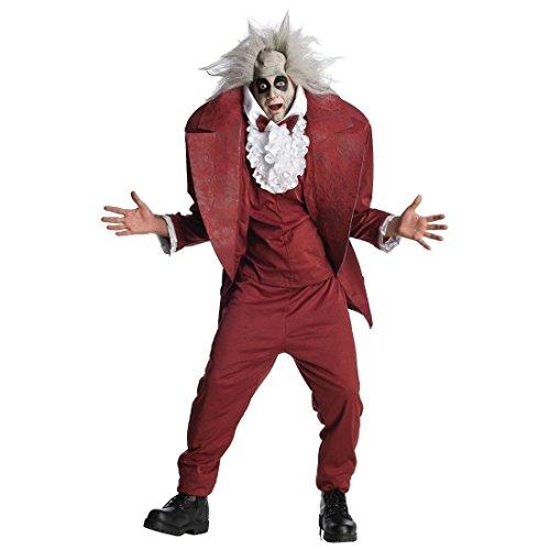 Shrunken Head Beetlejuice Costume - Standard - Chest Size 44 - Beetlejuice Shrunken Head Costume