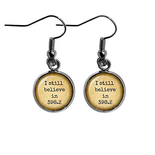 db6b9fa9f5 Fairy Tale I still believe in 398.2 Surgical Steel Earrings