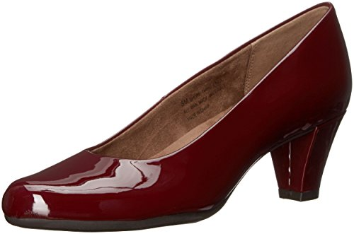 Aerosoles Women's Shore Thing Dress Pump, Dark Red Patent, 8.5 M US ()