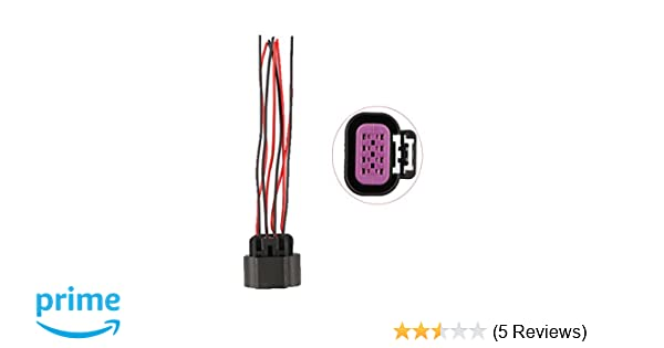 amazon com: new by xtremeamazing throttle body position sensor connector  pigtail harness for gmc chevy cadillac: automotive
