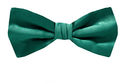 B-PBT-ADF-32 - Teal Green - Pre-Tied Solid Bowtie by Buy Your Ties