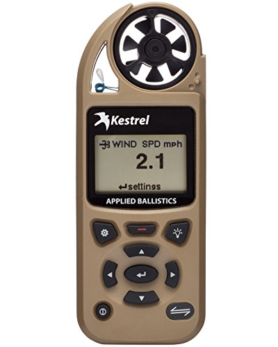 Kestrel Elite Weather Meter with Applied Ballistics and Bluetooth LiNK, Tan