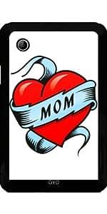 Funda para Samsung Galaxy Tab 2 P3100 - Corazón Del Tatuaje Madre by Carsten Reisinger