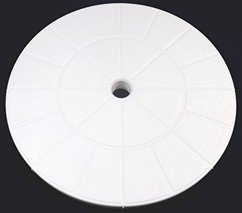 Val-Pak V50-115W White Skimmer Lid - 9 1/8 compatible with Pentair, American Products Admiral Skimmers (Skimmer Lid White)