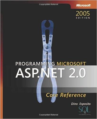 Programming Microsoft ASP.NET 2.0 Core Reference (2nd Edition) (Developer Reference)