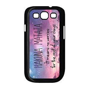 Beautiful Sky For Samsung Galaxy S3 I9300 Black or White Durable Plastic Case-Creative New Life