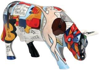 CowParade M/édium Picowsos School For The Arts 41289 Vache Cow Parade