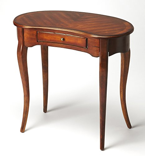 Accent Furniture - Queensbridge Writing Desk - Antique Cherry (Kensington Cherry Desk)