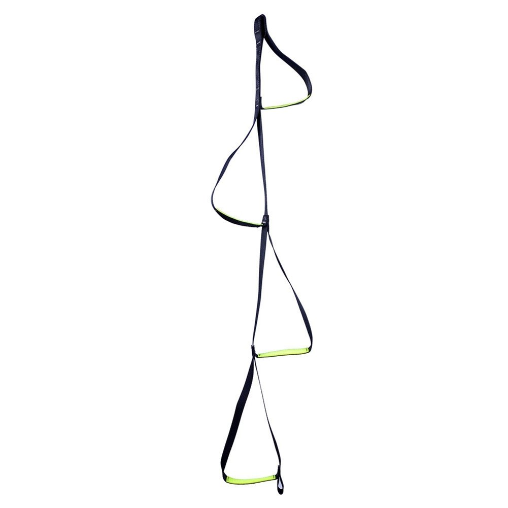 Dometool 4-Step Etrier Webbing Ladder Climbing Strap Ladder Rope Ladder Step Hanging Rope for Climbing Caving Rescue Rock