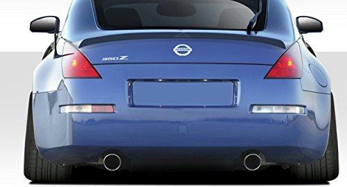 Duraflex ED-KXW-110 V-Speed Wing Trunk Lid Spoiler - 1 Piece Body Kit - Compatible For Nissan 350Z 2003-2008