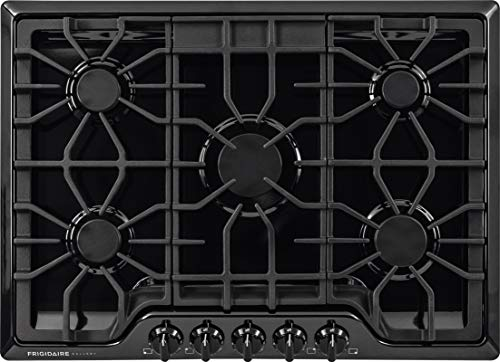 Frigidaire FGGC3047QB Gallery 30-Inch Gas Cooktop, Black (30 Inches Gas Cooktop)