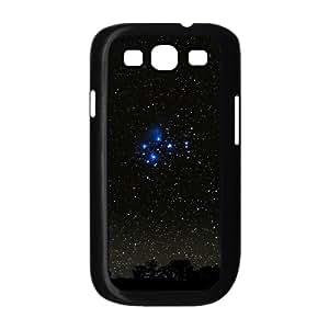 Starry Sky 2 Samsung Galaxy S3 Cases, Samsung Galaxy S3 Case I9300 Shockproof Men Dustin - Black