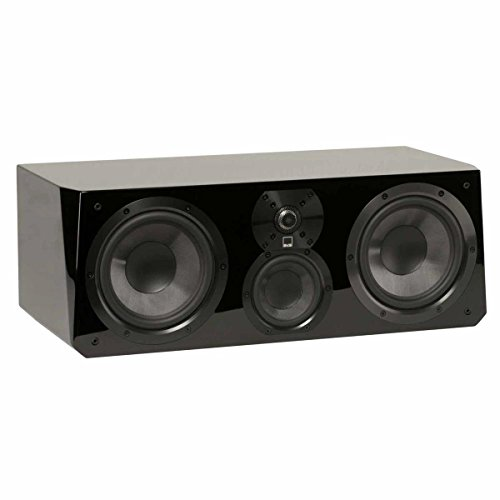 SVS Ultra Center Channel Loudspeaker (Piano Gloss Black) by SVS