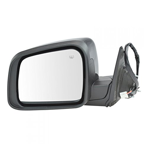 Mirror Power Heated Signal Memory Black Driver Side Left LH for Durango ()
