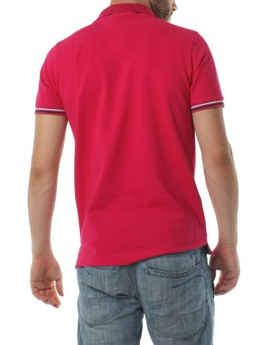 Polo FRANK FERRY Homme ff57 rose - -: Amazon.es: Ropa y accesorios
