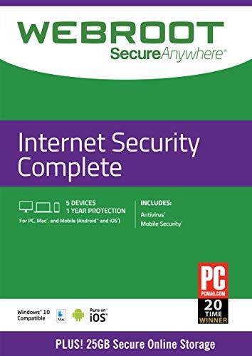 Webroot Internet Security Comple...