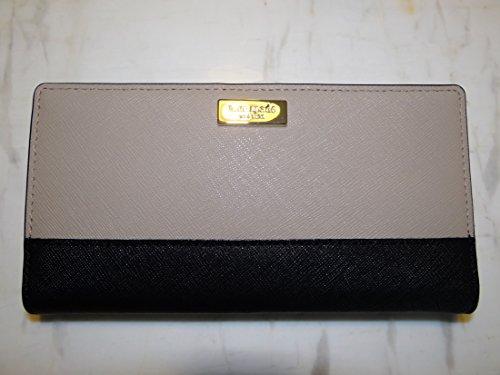 Kate Spade Stacy Newbury Lane Wallet (Mousse Frosting/Black)