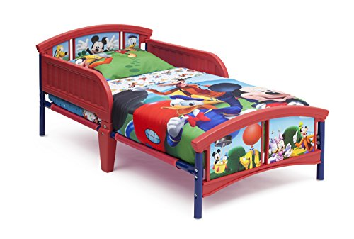 Purchase Delta Children Plastic Toddler Bed, Disney Mickey Mouse
